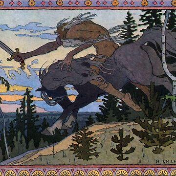 'Fantasy Poster' Art Nouveau (Reproduction) by RozAbellera