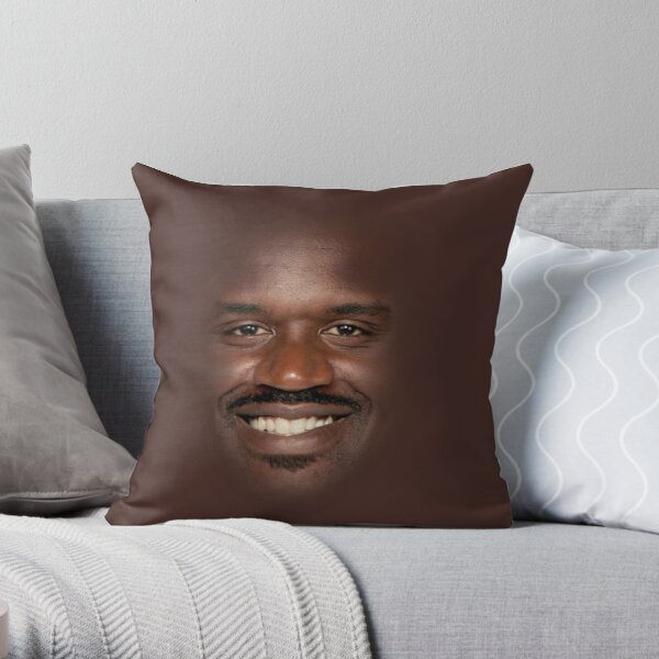 Shaq Fu Throw Pillow