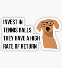 Funny Dog Accountant Financial Advisor Finance Teacher  Sticker