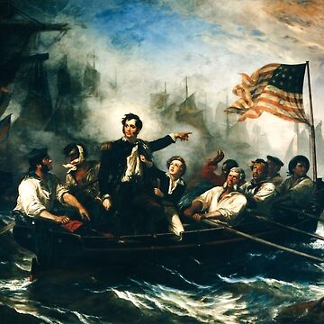 Battle of Lake Erie - Oliver Hazard Perry - War of 1812 by warishellstore