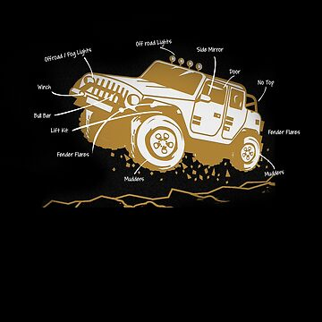 Anatomy Of Off Road Dirt Vehicle Enthusiast by TomGiantDesign