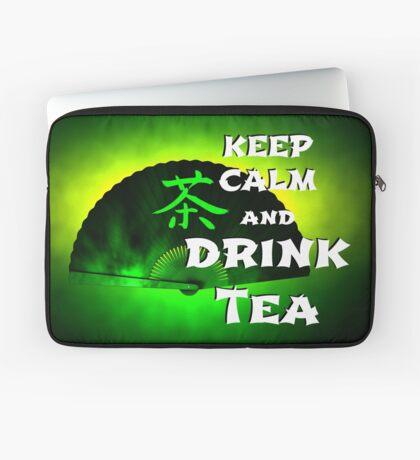Keep Calm And Drink Tea - green Tea Laptoptasche