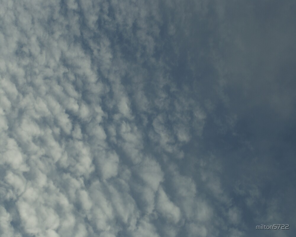 Dimpled clouds by milton5722