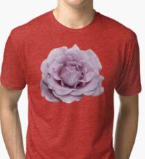Lilac Garden Rose - Hipster/Pretty/Trendy Flowers Tri-blend T-Shirt