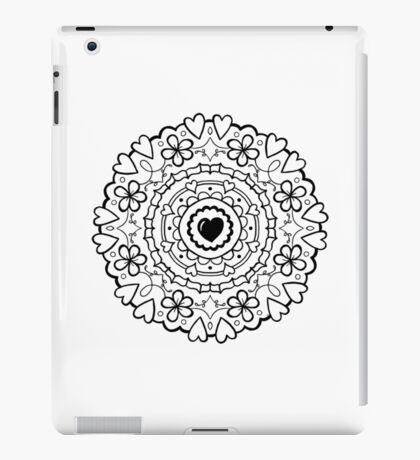 Just Add Colour - Mandala Love iPad Case/Skin