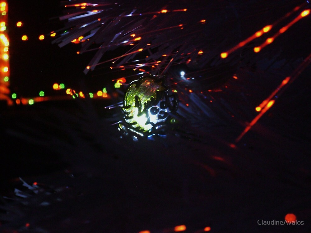 Stained Glass Christmas Angel by ClaudineAvalos