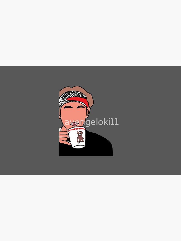 Taehyung Ellen Meme: Tee schlürfen von avengeloki11