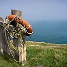 Life buoy. by Anne Scantlebury