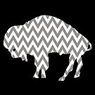 Buffalo Chevron by Keith Reesor