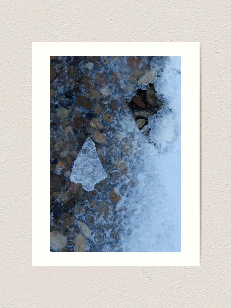 Alternate view of Little Ice Tree Art Print