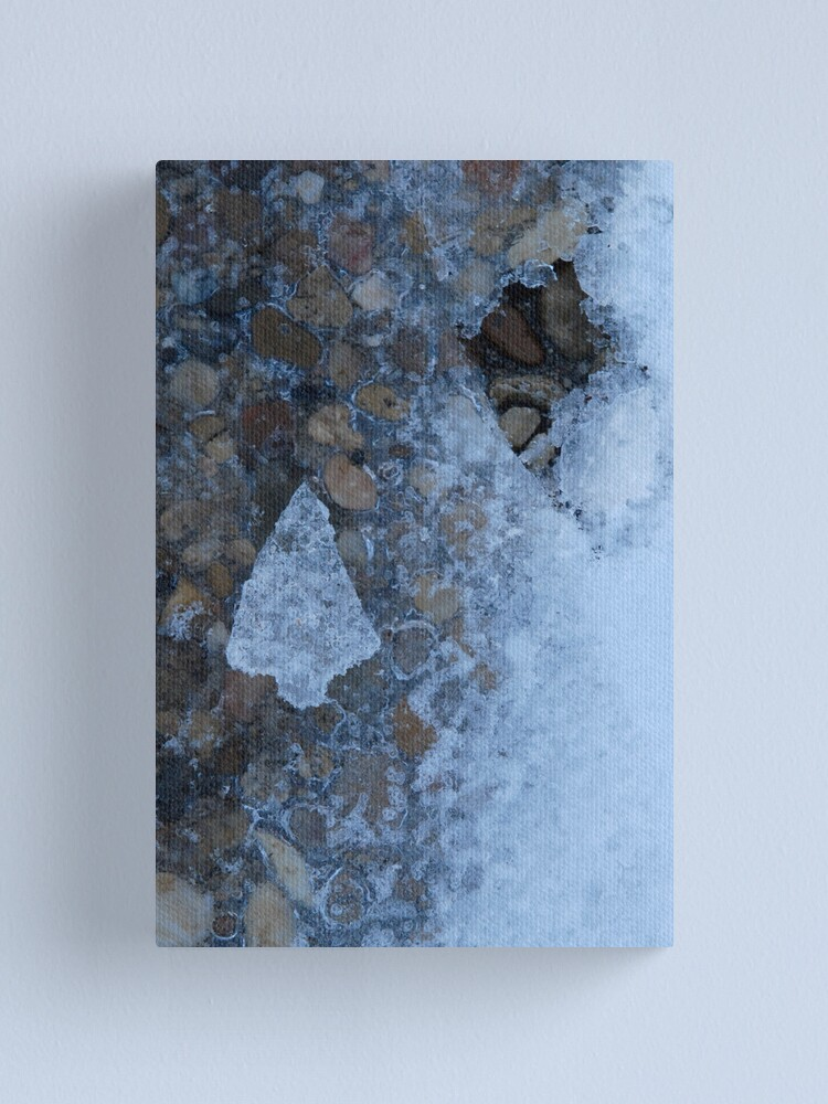Alternate view of Little Ice Tree Canvas Print