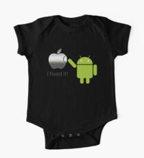 Apple Android I Fixed It One Piece - Short Sleeve