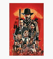 Red Dead Poster Photographic Print