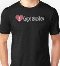 I Heart Cape Sundew | Love Cape Sundew Unisex T-Shirt