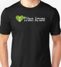 I Heart Titan Arums | Love Titan Arums Unisex T-Shirt