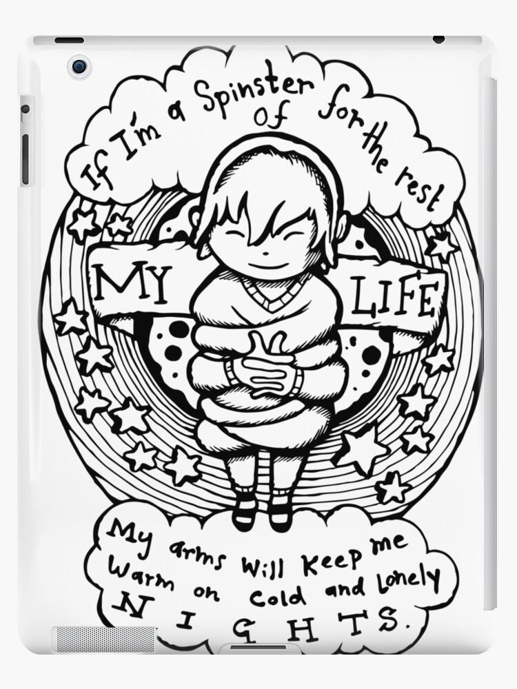Illustrated Lyrics Tire Swing By Kimya Dawson Ipad Case Skin By Bangart