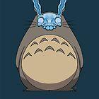 Donnie Darko Totoro by crabro