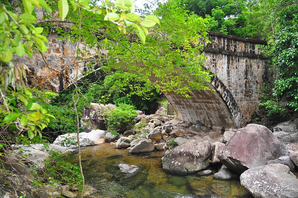 Crystal Creek Bridge by Geoff Beck