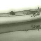 Misty Boat by Kym Howard