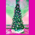 Christmas Tree in a pink theme.  by Joe Lach
