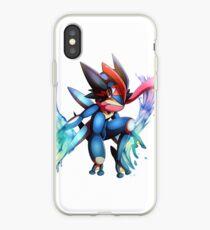 Ash-Greninja iPhone Case