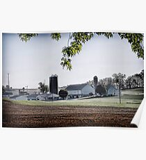 Amish Farmland - Lancaster County Poster