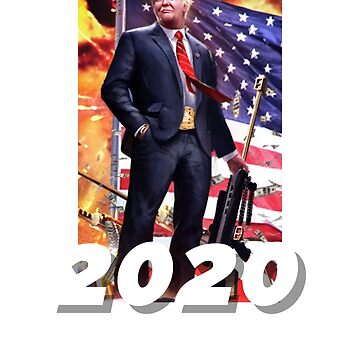 Trump 2020 phone case  by TimShane