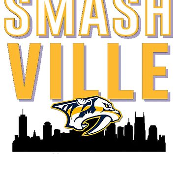 Smashville predators clock by TimShane