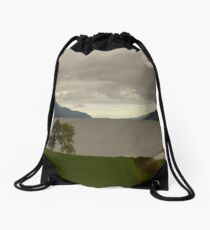 Tip of Loch Ness Drawstring Bag