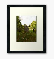 The Philosopher's Stone Framed Print