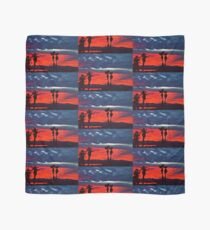 New Year Sunset Scarf