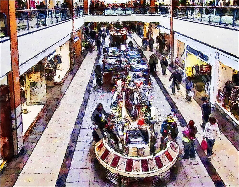 Mall 2 - Hamilton Ontario Canada by David Buckle