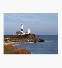 Montauk Point Lighthouse Photographic Print