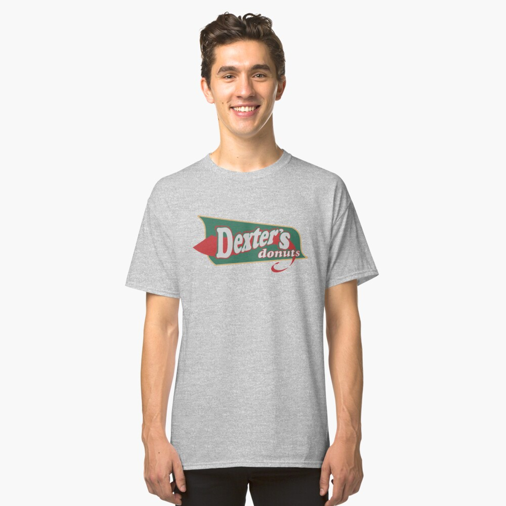 Dexter's Donuts! Classic T-Shirt Front