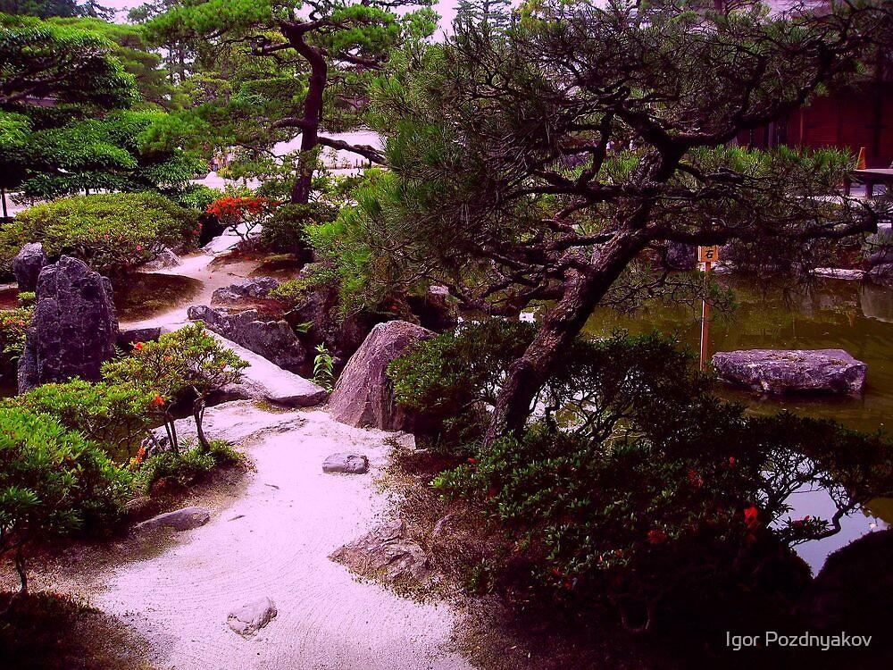 A Garden in Kyoto (V). Japan 2009 by Igor Pozdnyakov
