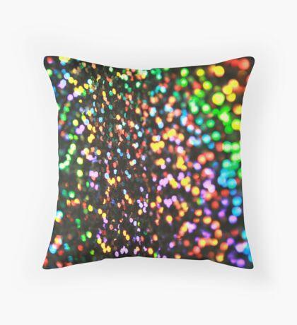 Multi Color Light Throw Pillow