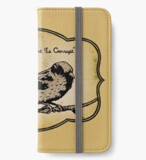 The Government Is Corrupt - Golden Book Version iPhone Wallet/Case/Skin