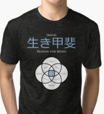 Ikigai - Map concept Tri-blend T-Shirt