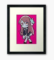 Sakura Zombie Chibi Framed Print
