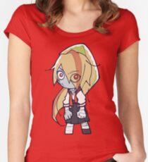 Saki Zombie Chibi Fitted Scoop T-Shirt