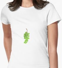 Grapes on a vine  Women's Fitted T-Shirt