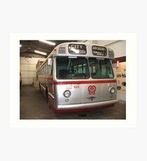 Bus 623 Art Print
