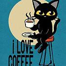 I love coffee by BATKEI