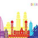 Dakar Skyline Pop von paulrommer