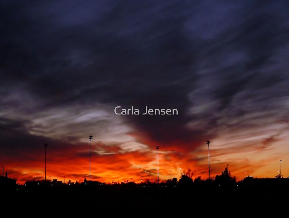 Fire In The Sky by Carla Jensen
