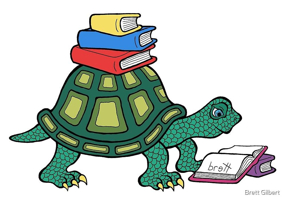 Book Shelf by Brett Gilbert