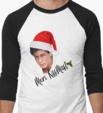 "An SRK Kind of Christmas. Or should we say... ""Kiss-Mast"" ;) Men's Baseball ¾ T-Shirt"