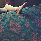 kirstie, on the floor, beside the bed by meanderthal