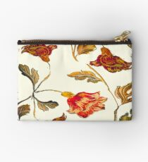 floral pattern on cream Studio Pouch