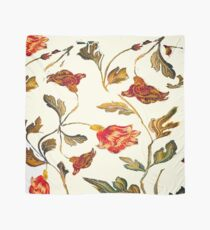 floral pattern on cream Scarf